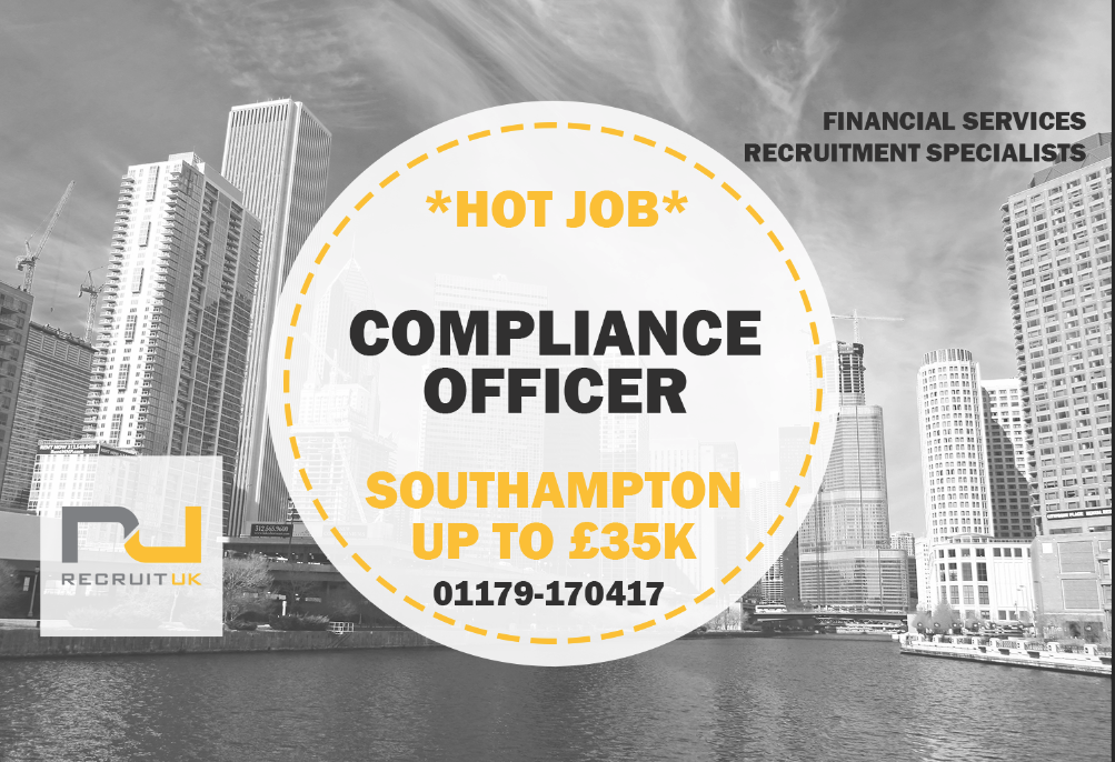 Compliance officer southampton recruit uk ltd - Corporate compliance officer job description ...