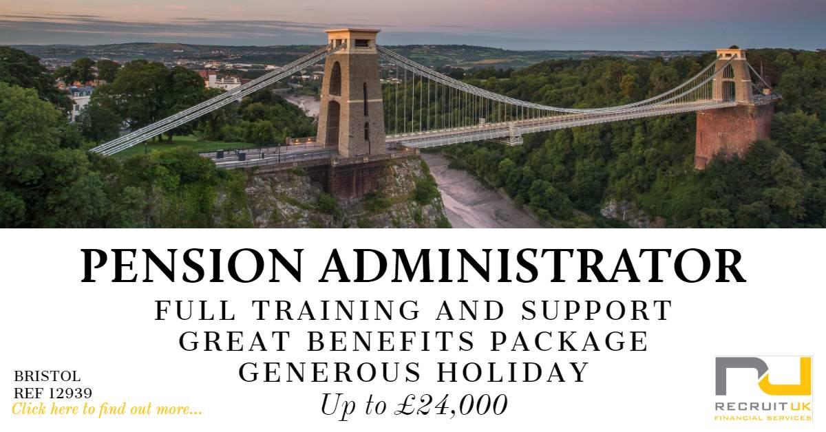 Pension Administrator, Bristol