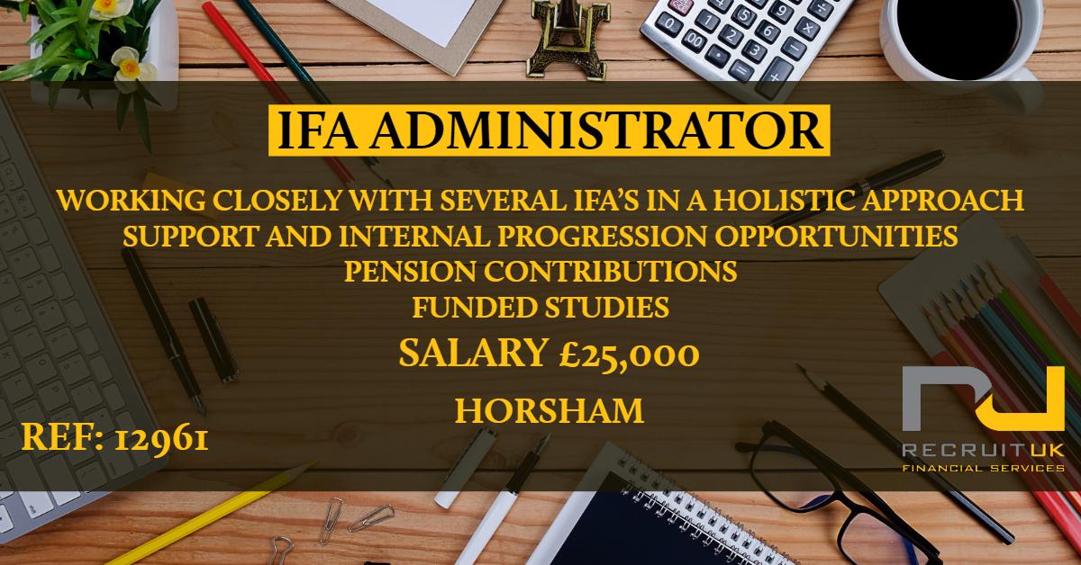 Ifa Administrator Recruit Uk