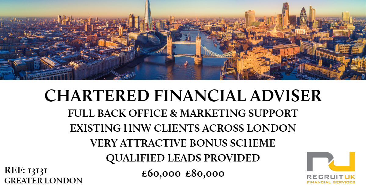 Chartered Financial Planner Greater London