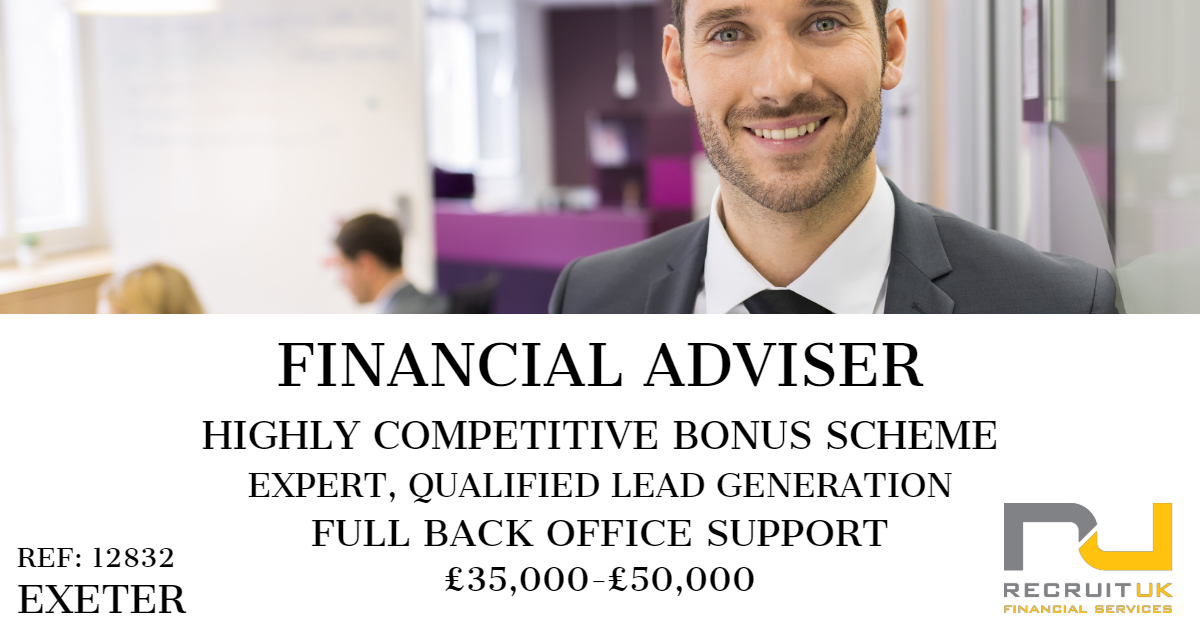 financial adviser, exeter