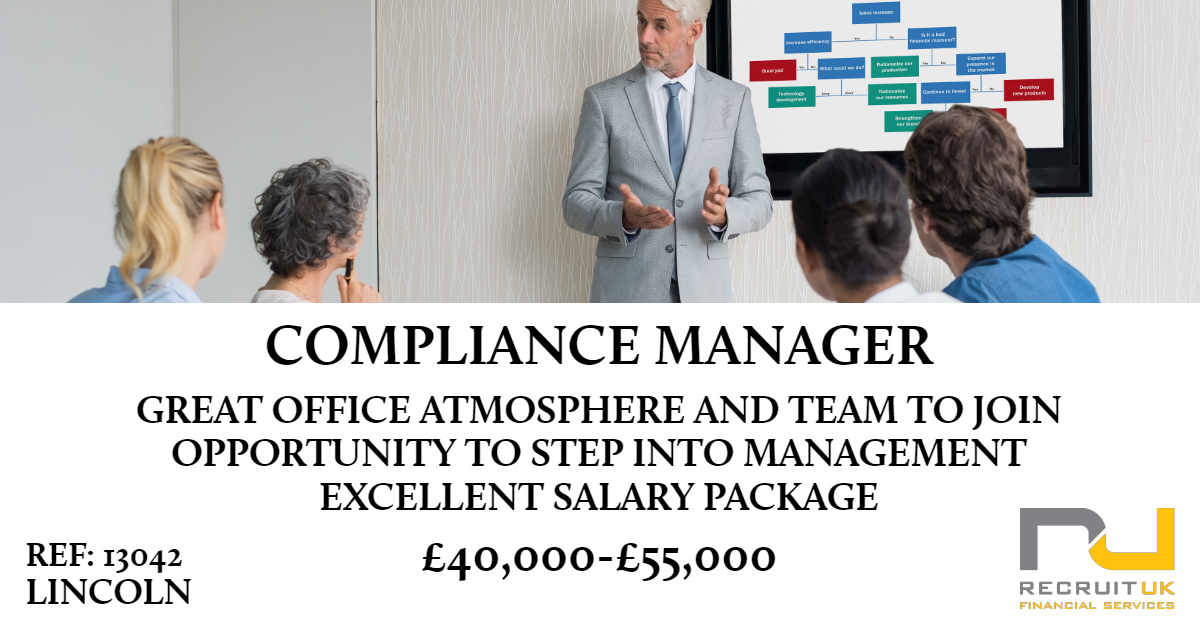 compliance manager, lincoln