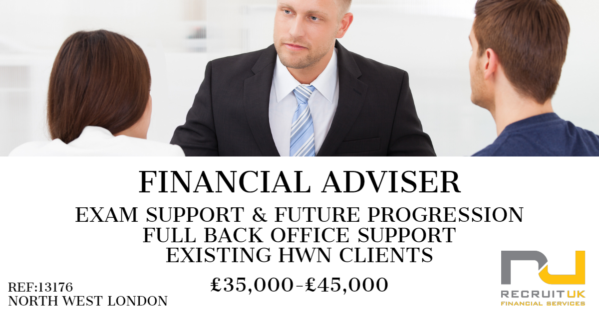 financial adviser, north west london