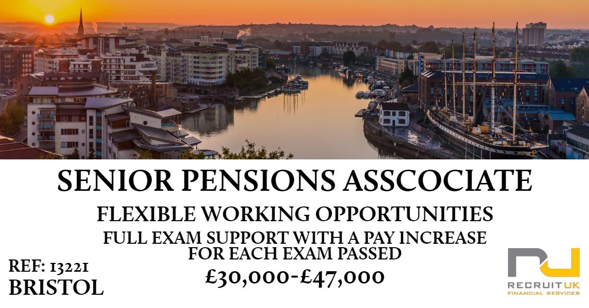 senior pensions associate, bristol
