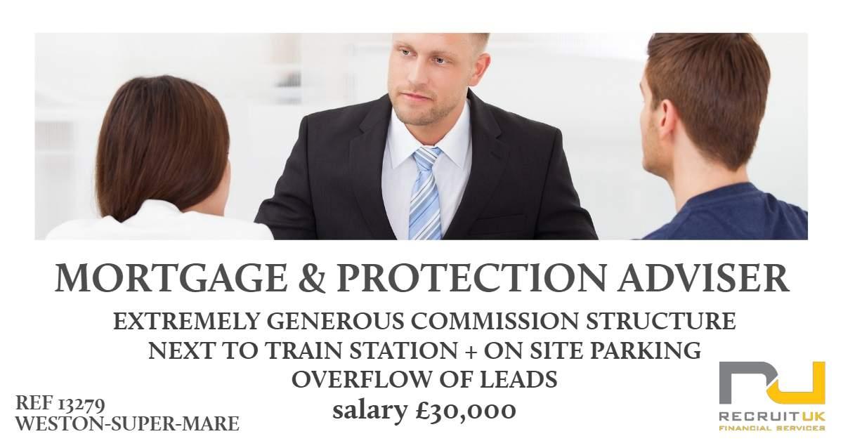 mortgage and protection adviser, weston-super-mare