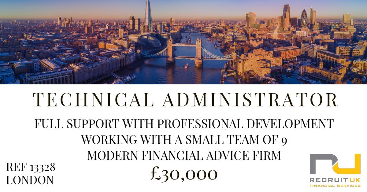 technical administrator, london