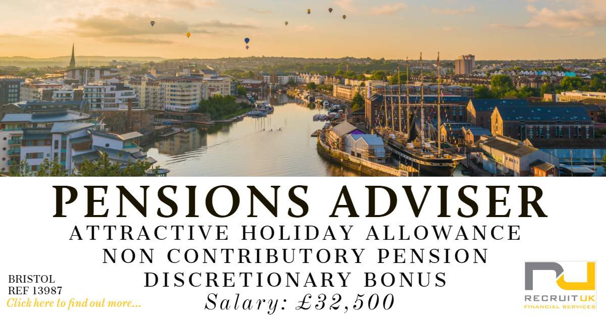 Pensions Adviser, Bristol