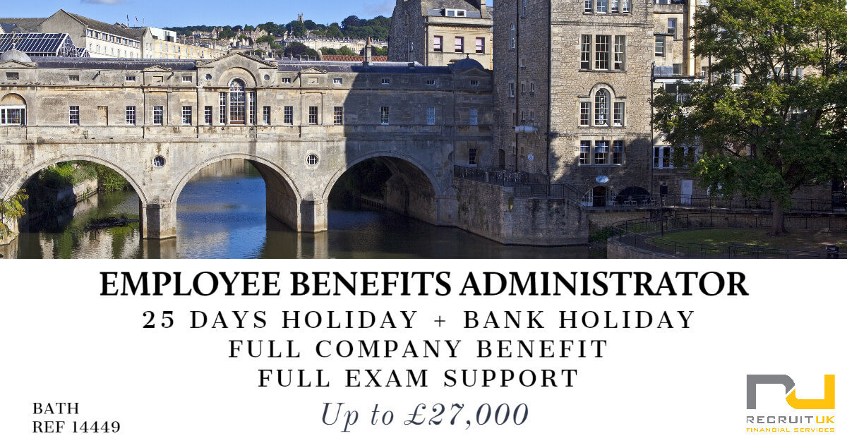Employee Benefits Administrator, Bath