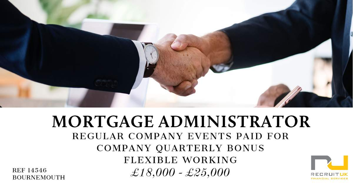 Mortgage Administrator, Bournemouth