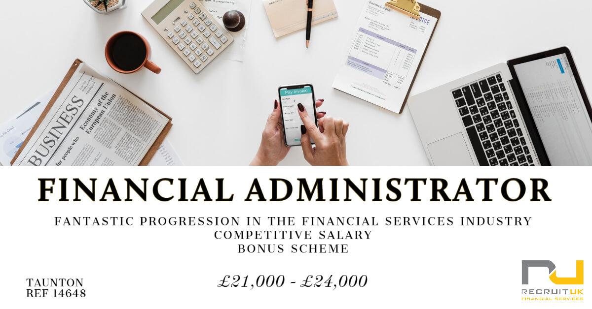 Financial Administrator, Taunton