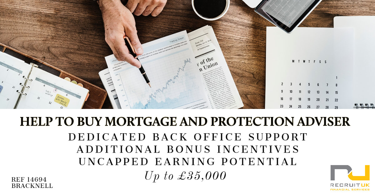 Help to Buy Mortgage and Protection Adviser, Bracknell