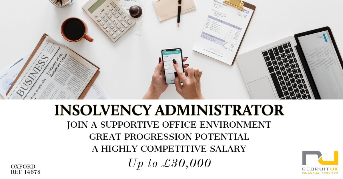 Insolvency Administrator, Oxford