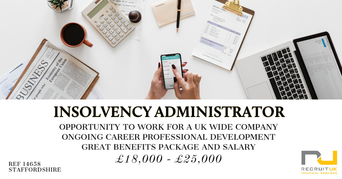 Insolvency Administrator, Staffordshire