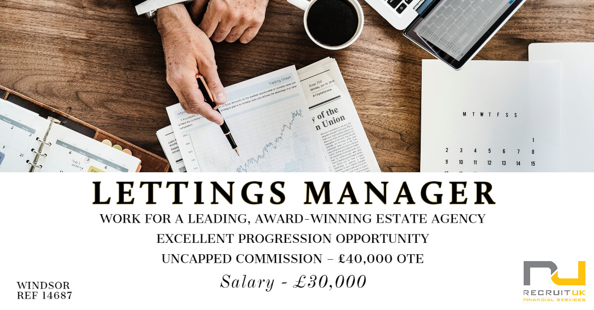 Lettings Manager, Windsor