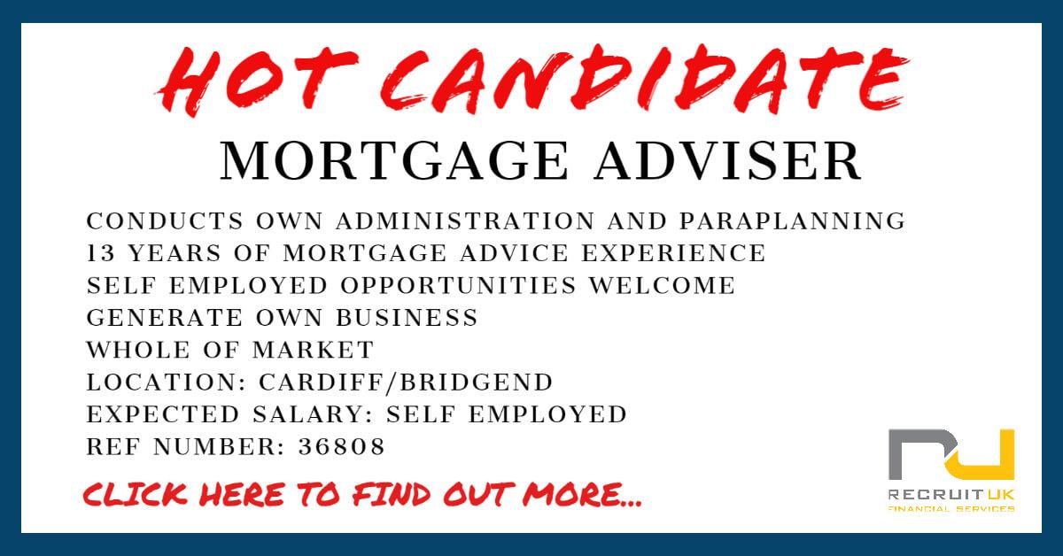 Mortgage Adviser - Recruit UK