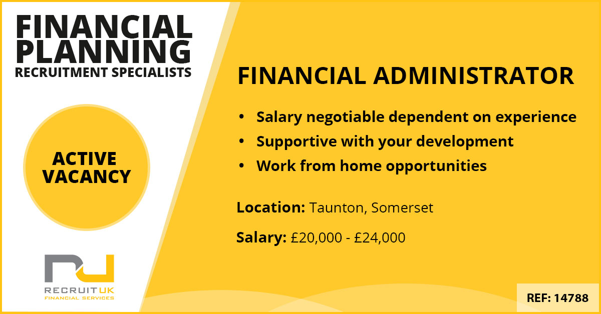 Financial Administrator, Taunton