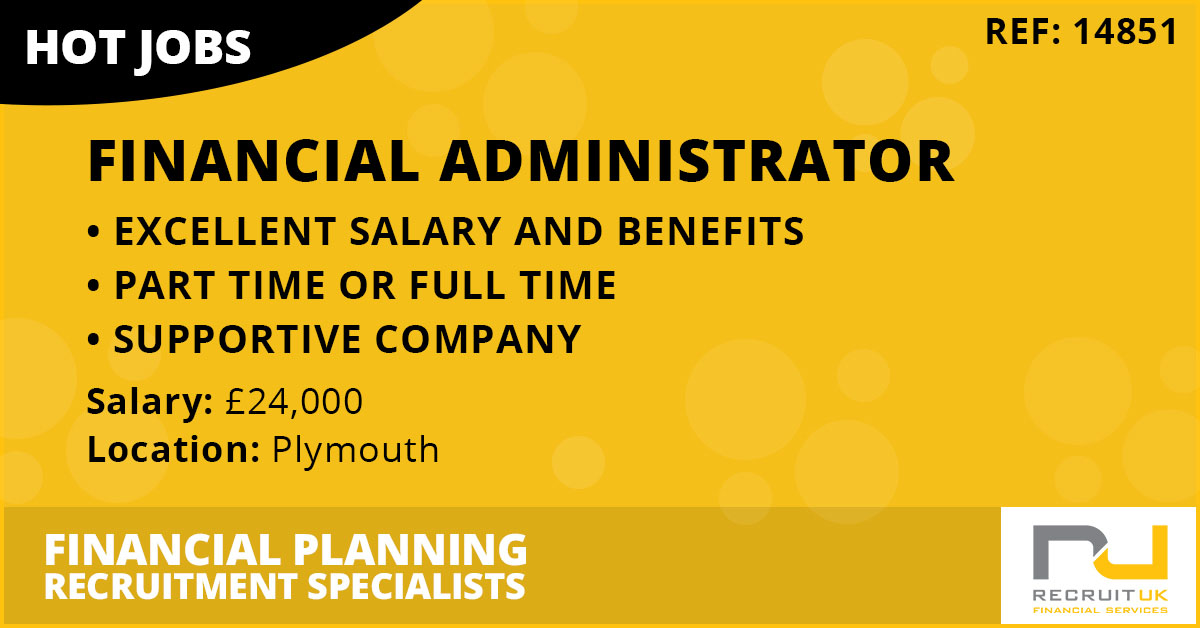 Financial Administrator, Plymouth